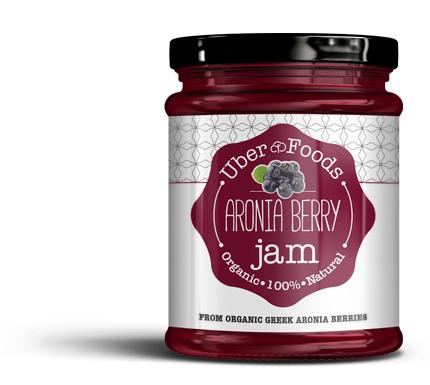 Uber Foods - Certified Organic Aronia Berries Jam